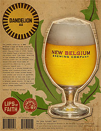 Dandelion_ale_label