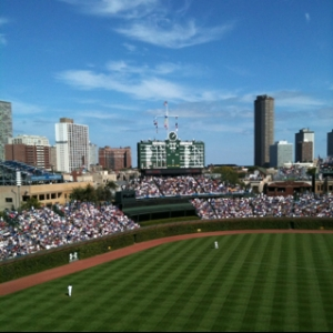 Sunny Day at the Friendly Confines