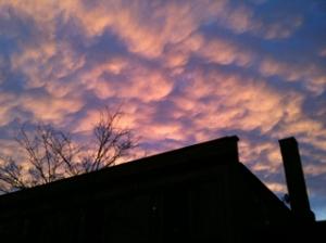 Tonight's Amazing Sunset