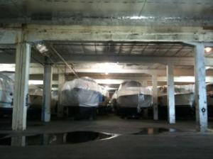 Saturday 3 p.m.: Drydock