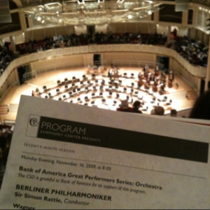 One Night Only at Symphony Center
